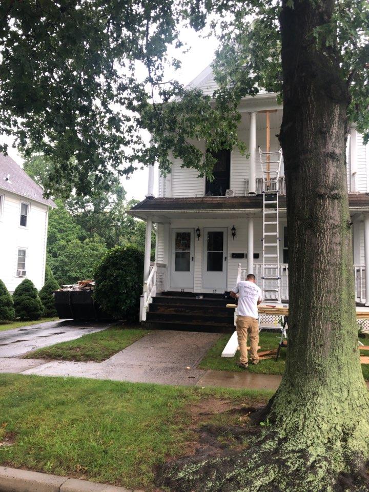 Wallingford, CT -  Villwell Builders porch repairs