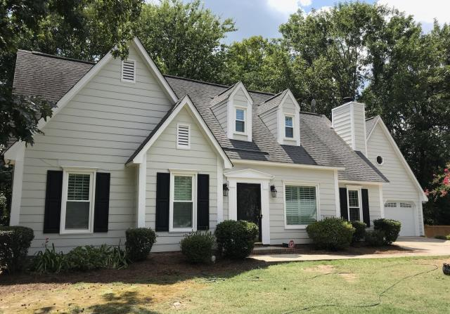 Columbia, SC - Rhino Shield Ceramic Coating was applied to the wood siding and wood trim areas on this beautiful home.