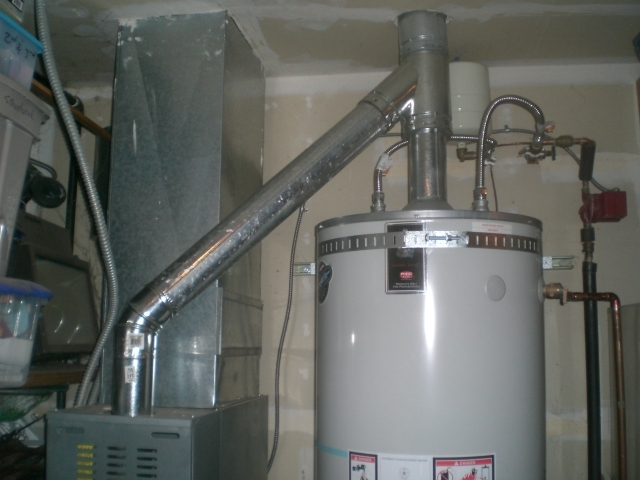 Installed a 40 gallon Rheem hot water heater for our customer in South Amboy.