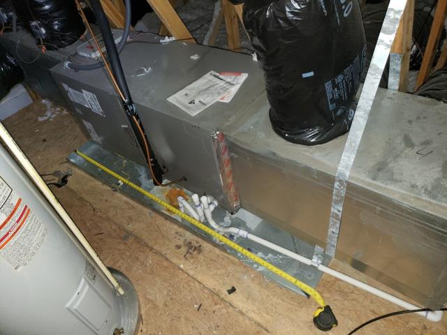 Charlotte, NC - Serviced heat on Trane furnace for residential customer in the Renassance neighborhood.