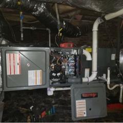 Charlotte, NC - Installed new Goodman system foe residential customer in the Clanton Park Roseland neighborhood.