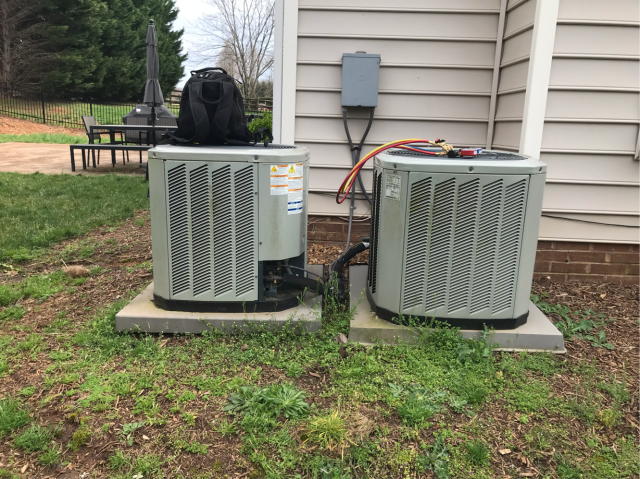 Huntersville, NC - Performed a/c tune up for a residential customer near Huntersville, NC.