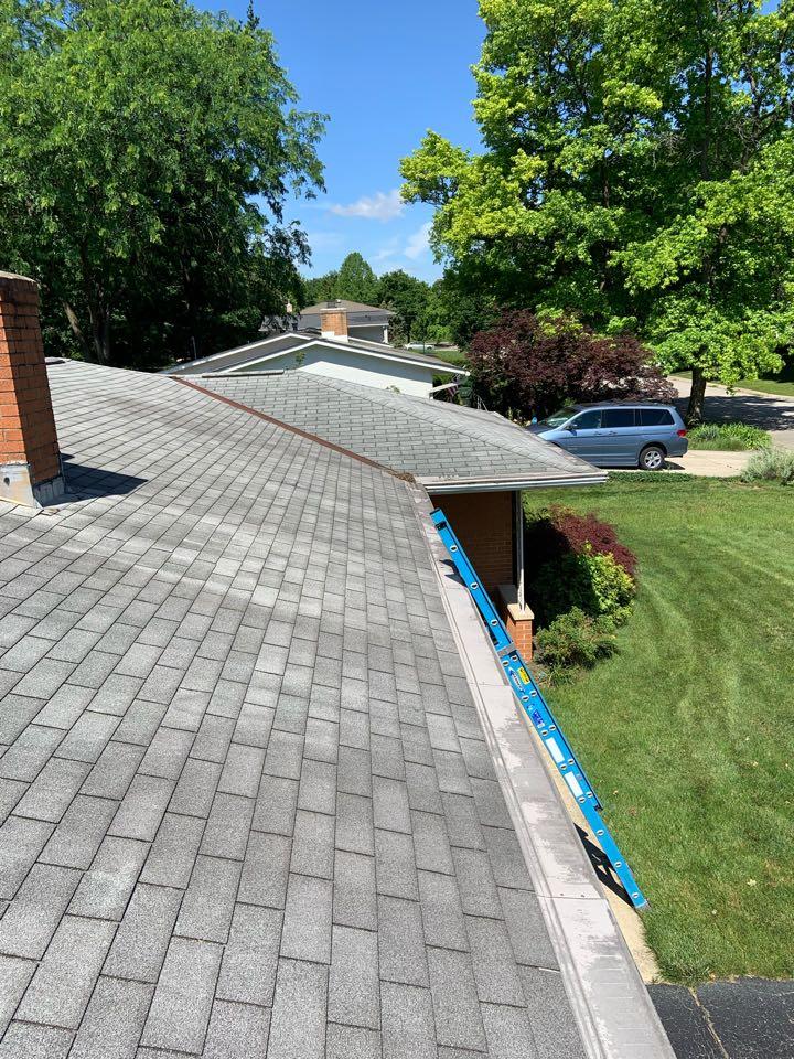 Columbus, OH - New shingle roof estimate