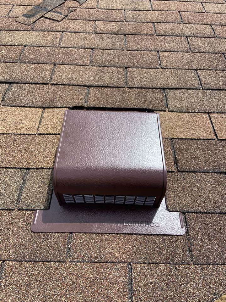 Columbus, OH - Replacement of leaking bathroom roof vent