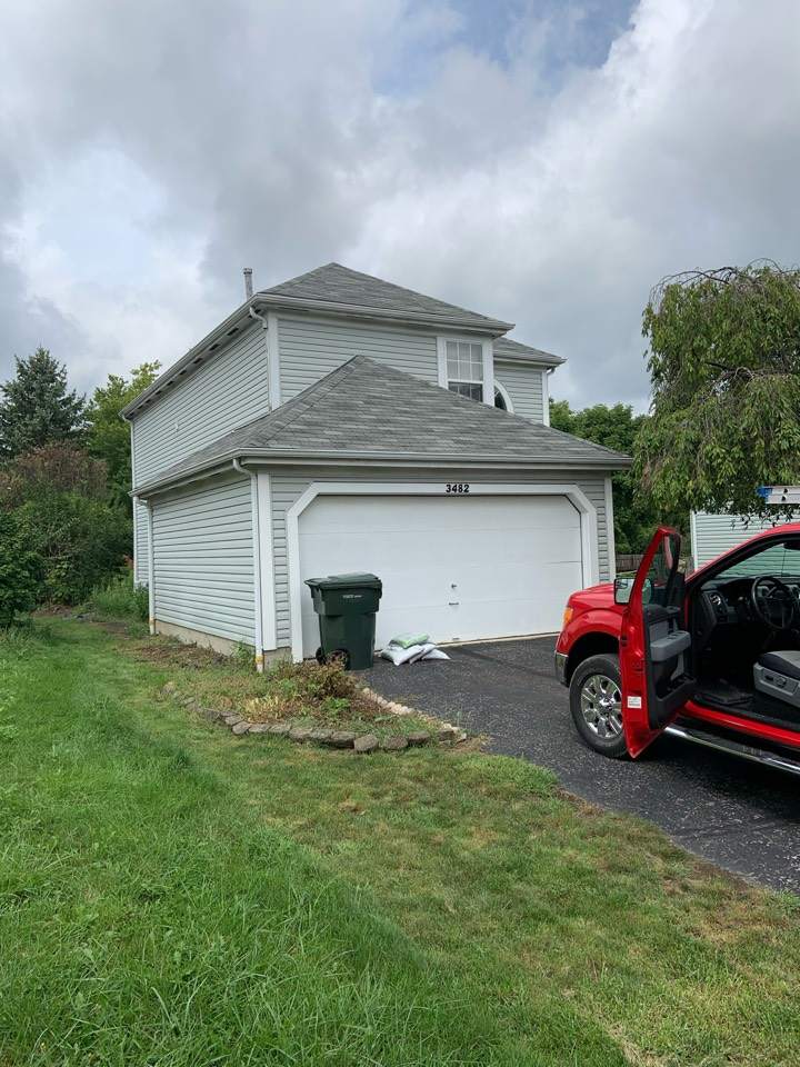 Columbus, OH - Estimate for new residential shingle roof and aluminum gutters