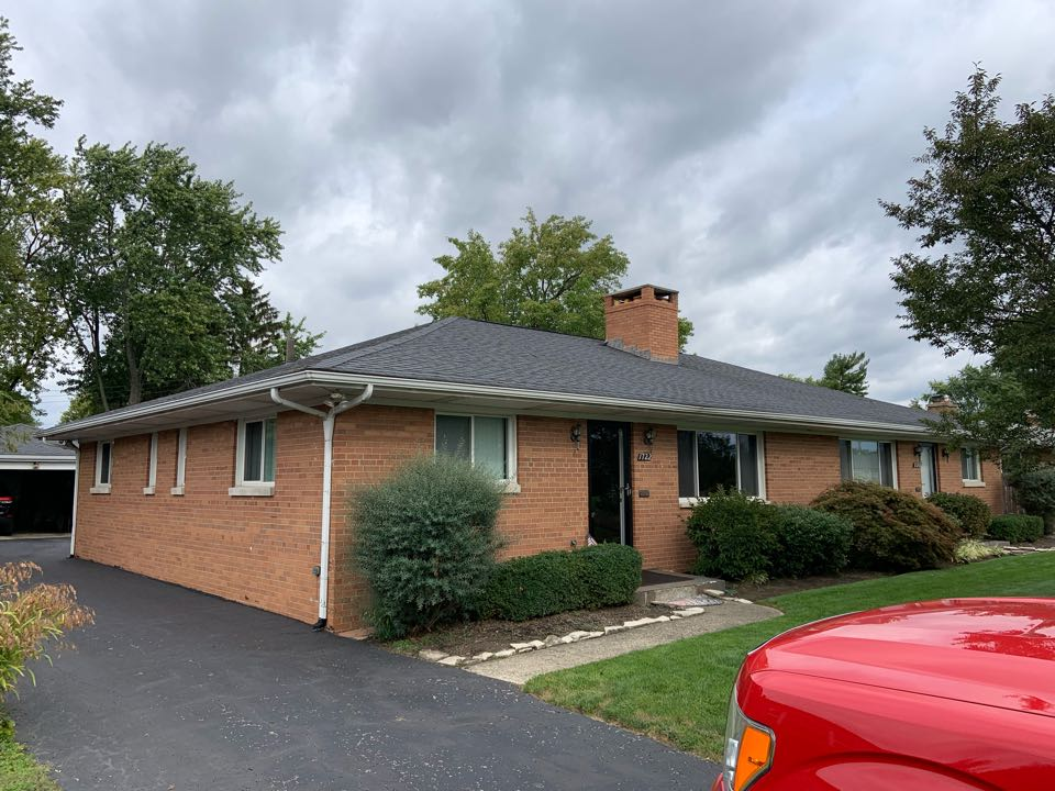 Upper Arlington, OH - New shingle roof estimate and new aluminum gutters