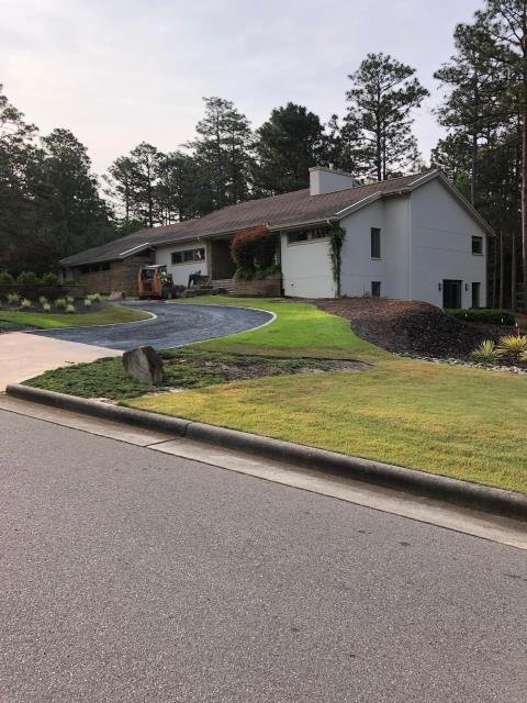 Pinehurst, NC - American Roofing is working in a repair at this property in Pinehurst