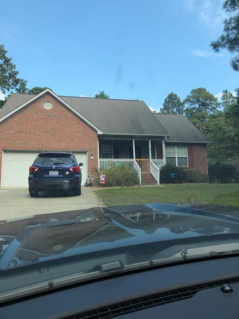 Pinehurst, NC - We are inspecting the roof on this house for a new shingle roof. This is in Pinehurst, NC