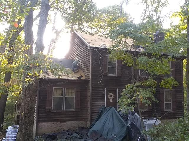Raleigh, NC - WE replaced the roof on this house in Raleigh, NC