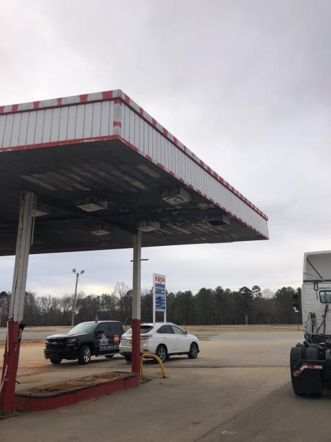 Henderson, NC - We are inspecting this gas station to install a new roof in Henderson, NC