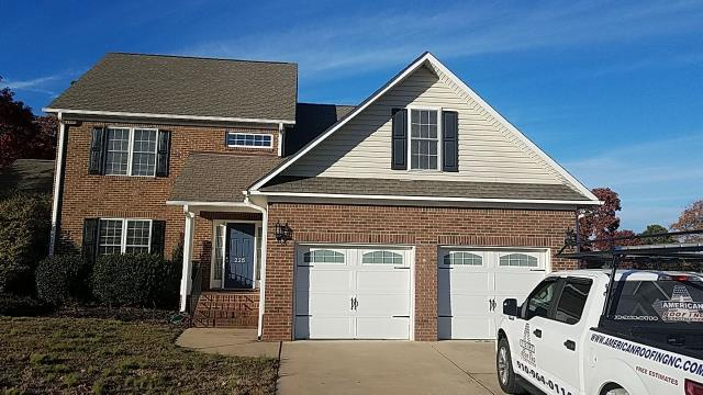 Sanford, NC - We are inspecting this house to perform some roof repairs in Henderson, NC