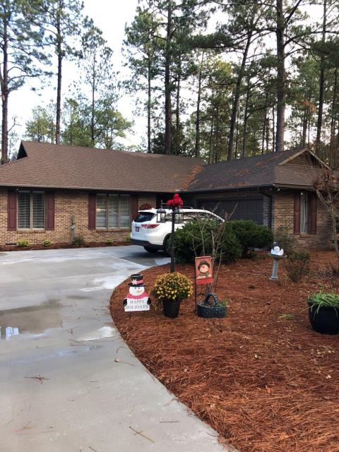 Pinehurst, NC - We are inspecting this house to install a new roof in Pinehurst, NC