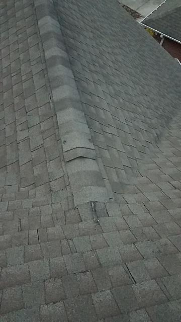 West End, NC - We are inspecting the roof on this house in Durham, NC