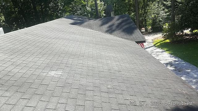 Southern Pines, NC - We are inspecting the roof on this house in Southern Pines,NC
