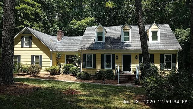 Raleigh, NC - We are inspecting the roof on this house in Raleigh, NC