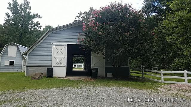 Raleigh, NC - WE are about to instal a new metal roof on this barn in Raleigh, NC