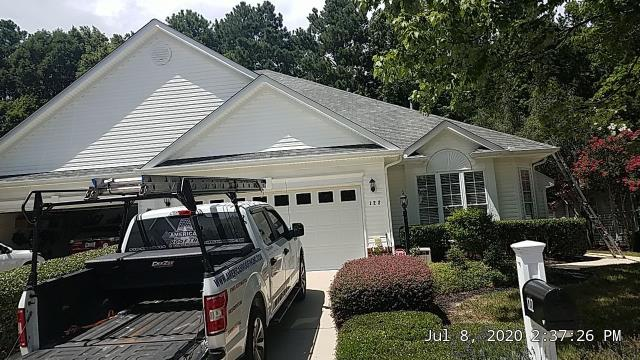 Cary, NC - We are inspecting this house in Cary, NC