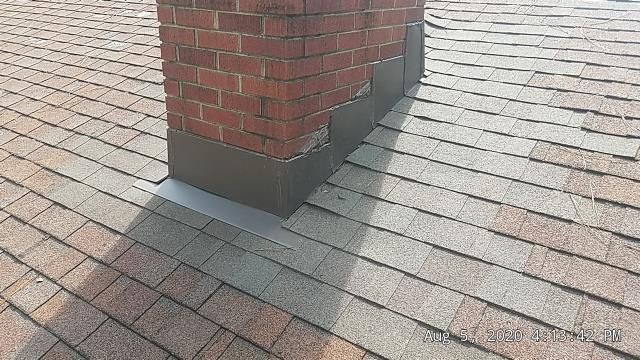 West End, NC - We just repaired the chimney at this house in West End, NC