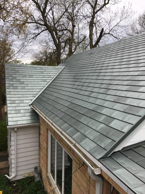 Roseville, MN - New Millennium Tile Roof.