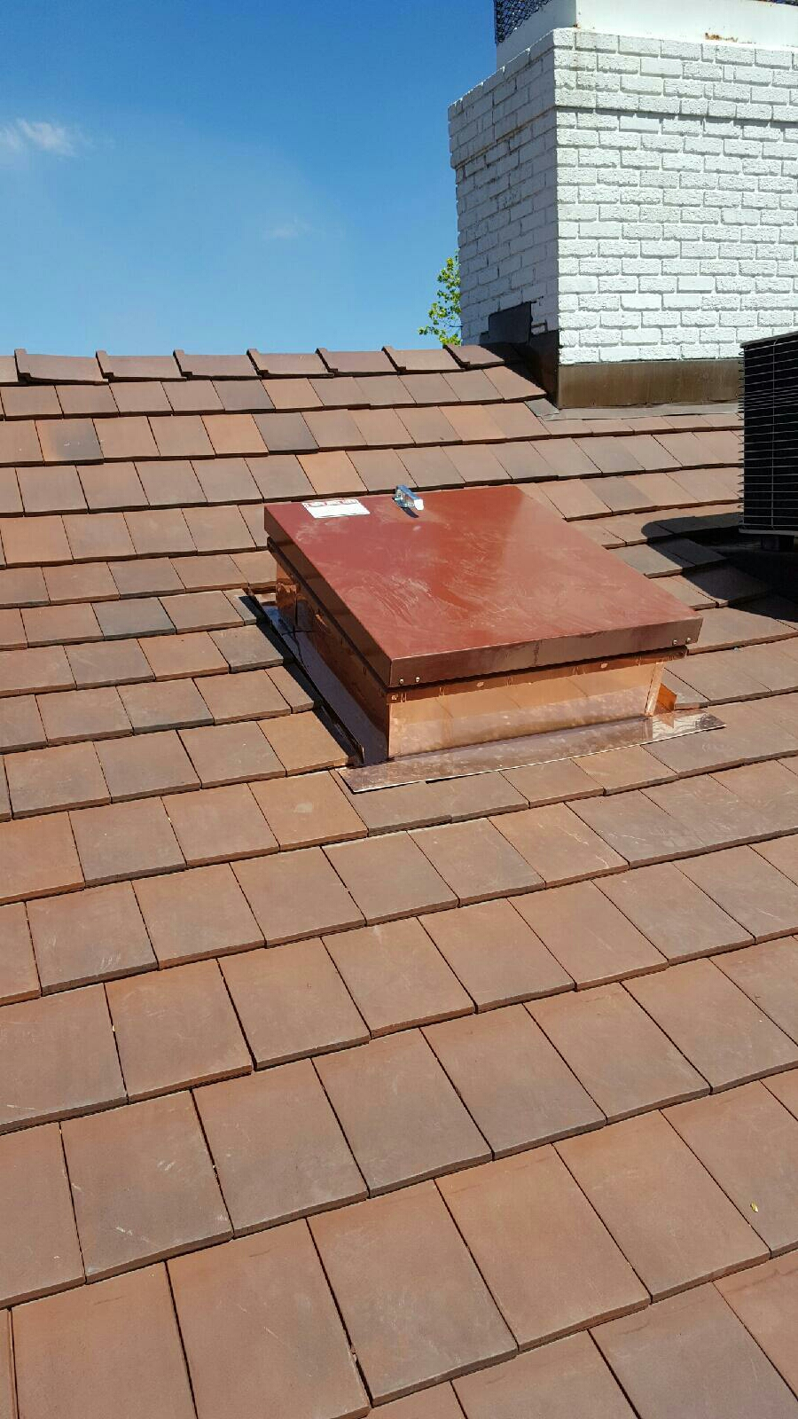 Saint Paul, MN - Framing and installing a Babcock roof hatch