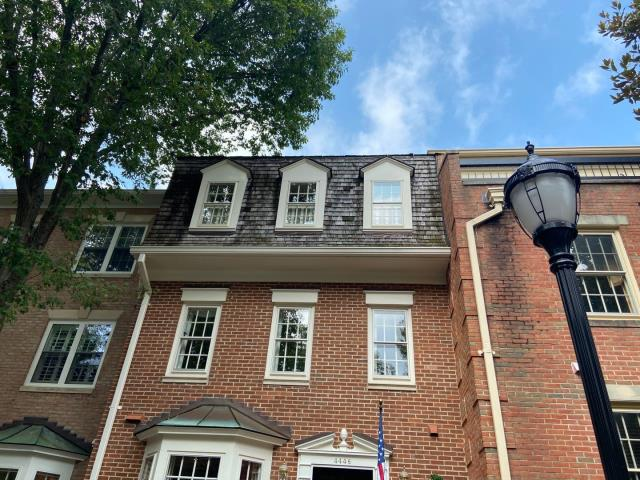 Washington, DC - Excited to begin this roof replacement project for our client here at Westover Place. We'll be installing a new Cedar Shake roof system. Eager to see the finished product.