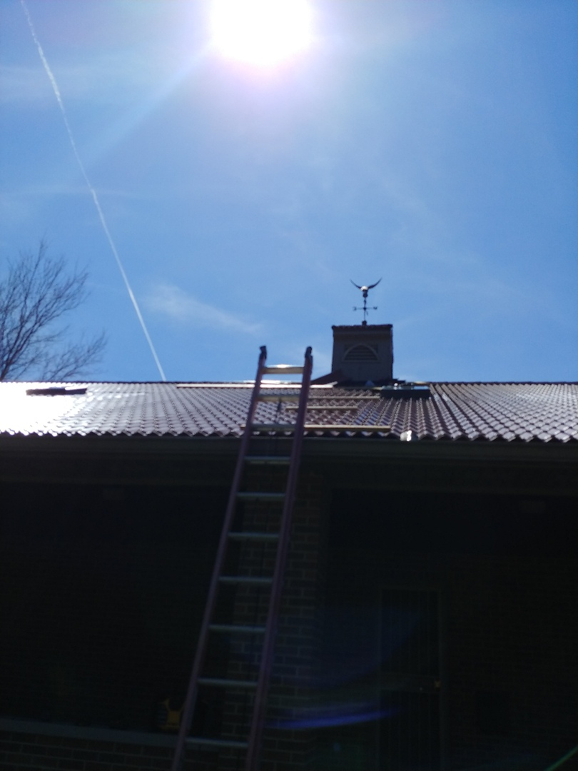 Bellbrook, OH - Chimney flashing replacement in Bellbrook, Ohio