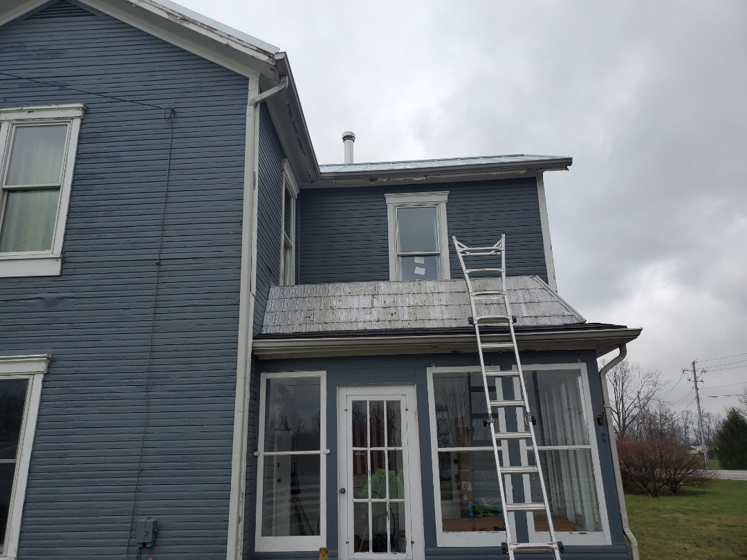 Xenia, OH - Replaced flat roof