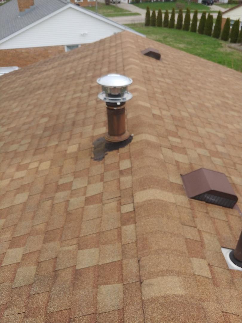 Vandalia, OH - Roof leak