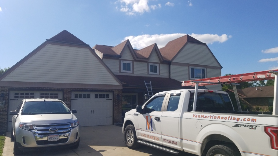 Enon, OH - Roof repairs in Enon, OH