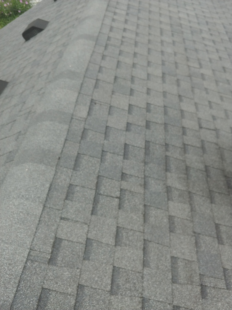 Fairborn, OH - Certainteed shingle roof replacement and gutter replacement from tree damage in Fairborn, Ohio.