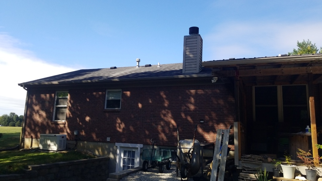 Springboro, OH - Certainteed Landmark roof replacement in Springboro, OH