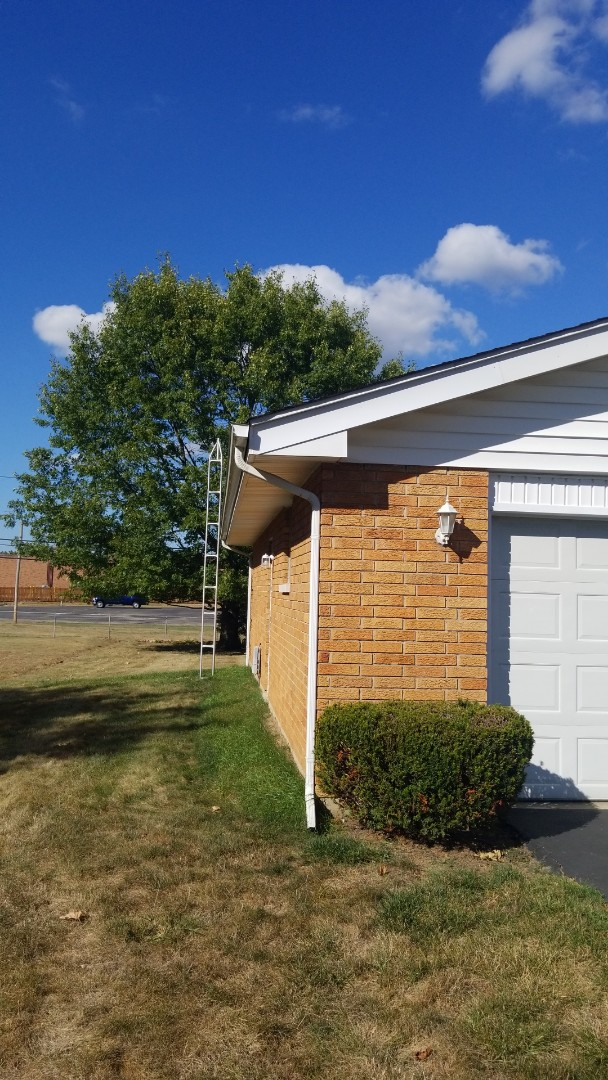 Dayton, OH - Gutter and soffit work in Beavercreek,  OH