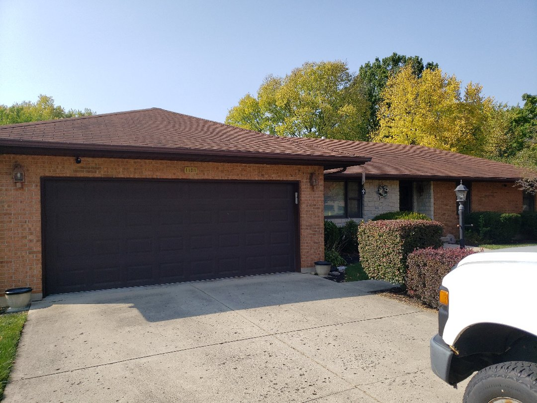 Miamisburg, OH - Shingle roof replacement in Miamisburg, OH.