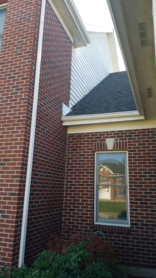 Beavercreek, OH - Roof leak repair in Beavercreek, Ohio.