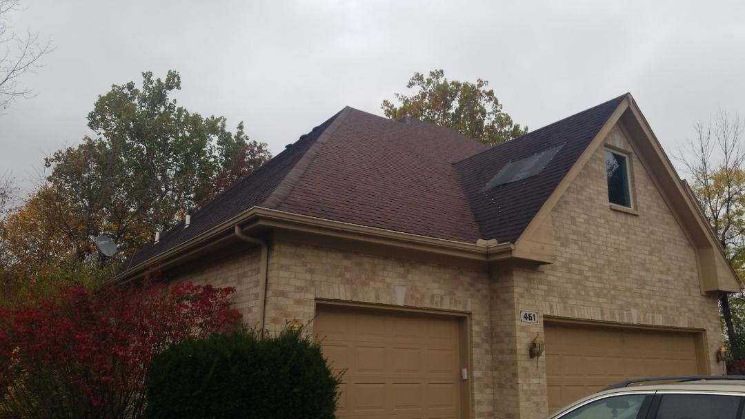 Vandalia, OH - Storm damage Certainteed Landmark roof replacement in Vandalia,  Ohio
