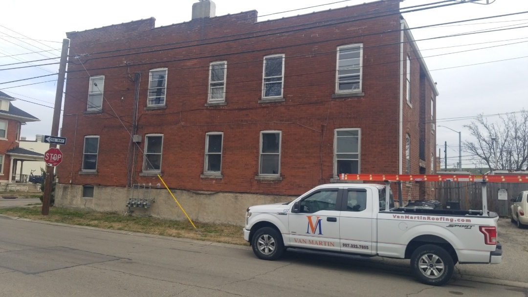 Dayton, OH - Flat roof replacement in Dayton, Ohio.