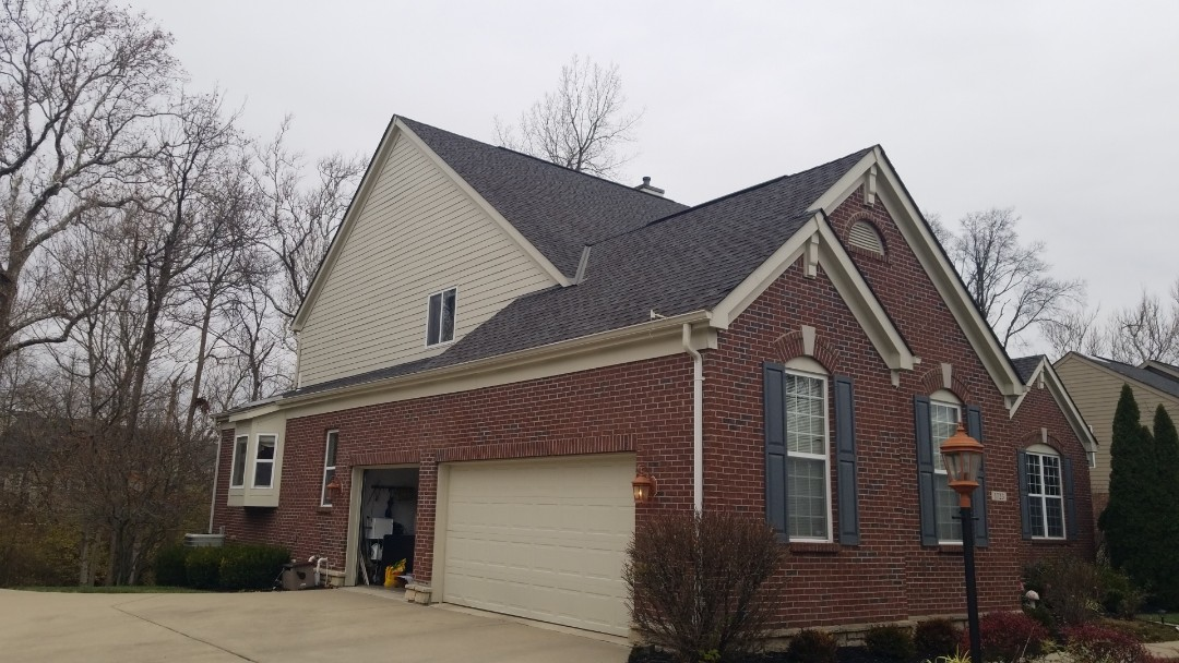 Dayton, OH - Shingle roof repairs in Centerville, Ohio.