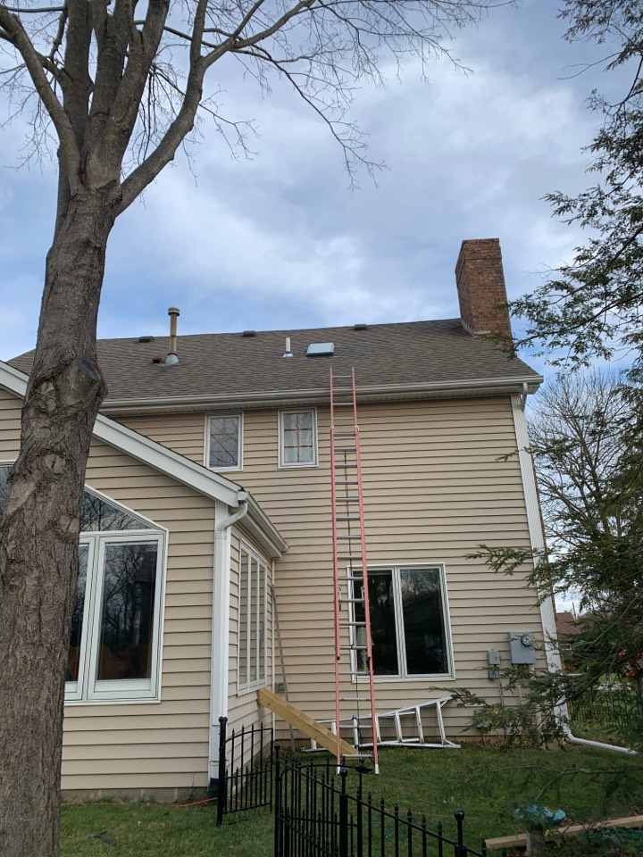 Yellow Springs, OH - Replacing Velux skylight in Yellow Springs, Ohio.