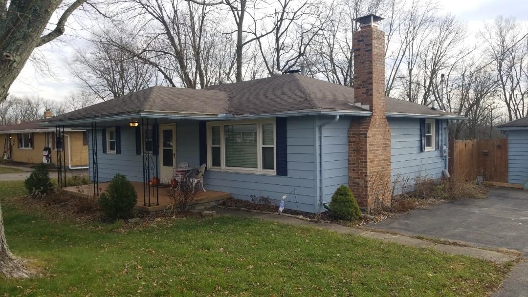 Springboro, OH - Certainteed Landmark roof replacement in Springboro, Ohio. Roof storm damage.