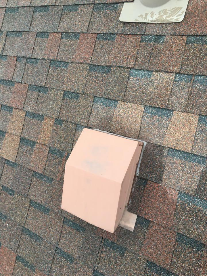 Fairborn, OH - Shingle roof leak repair in Fairborn, Ohio.