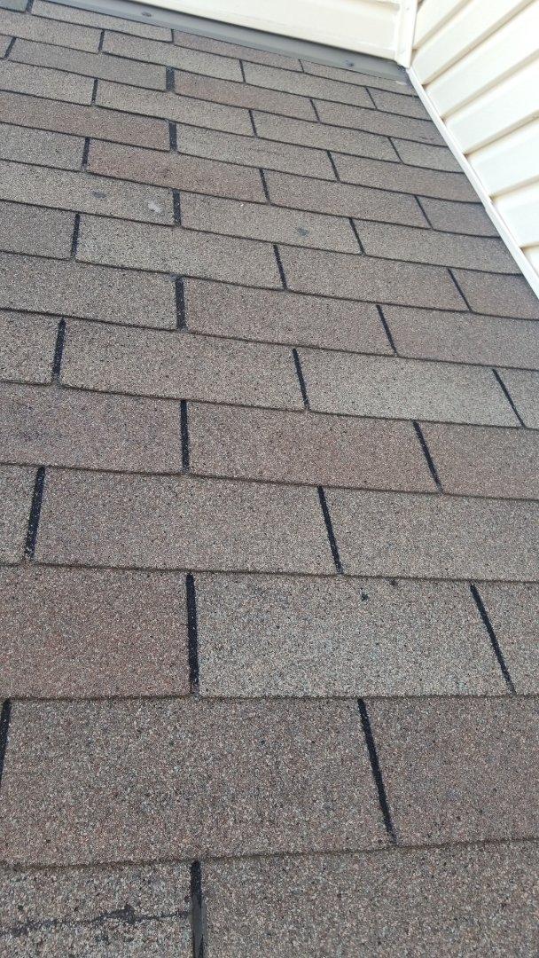 Springboro, OH - Shingle roof leak repair in Springboro, Ohio.
