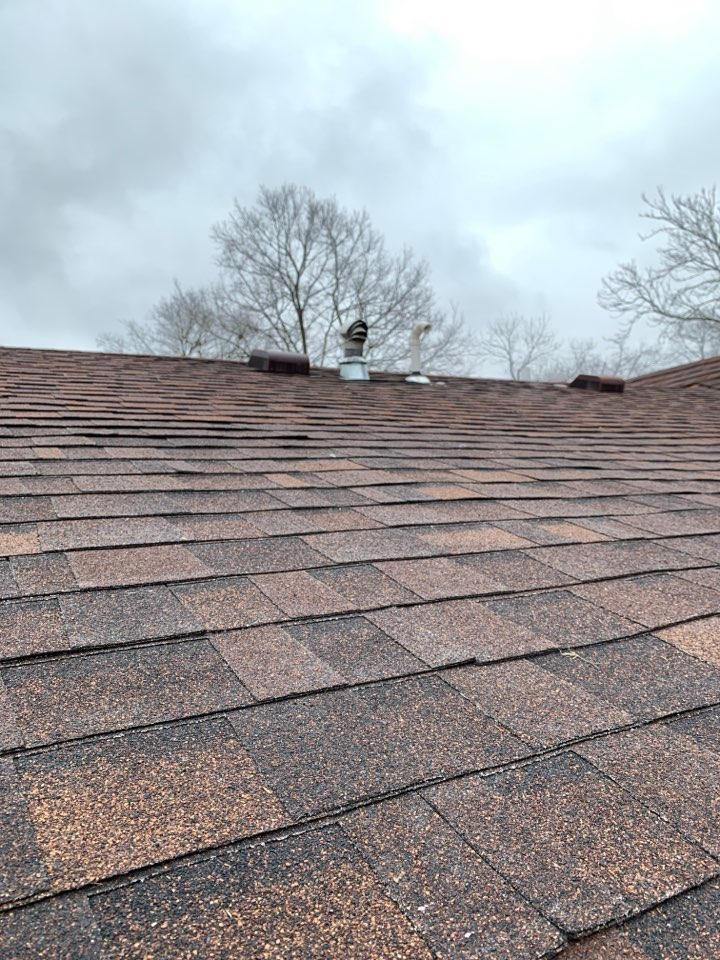 Xenia, OH - Pipe boot, B vent replacement, and shingle repair in Xenia, Ohio.