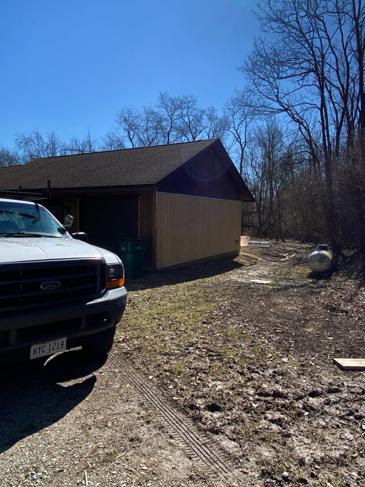 Yellow Springs, OH - Inspection of a T-11 siding installation in Yellow Springs, Ohio.