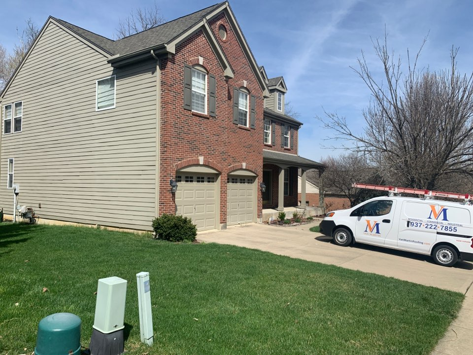 Bellbrook, OH - Inspection to repair James Hardie Fiber Cement siding in Bellbrook, Ohio.