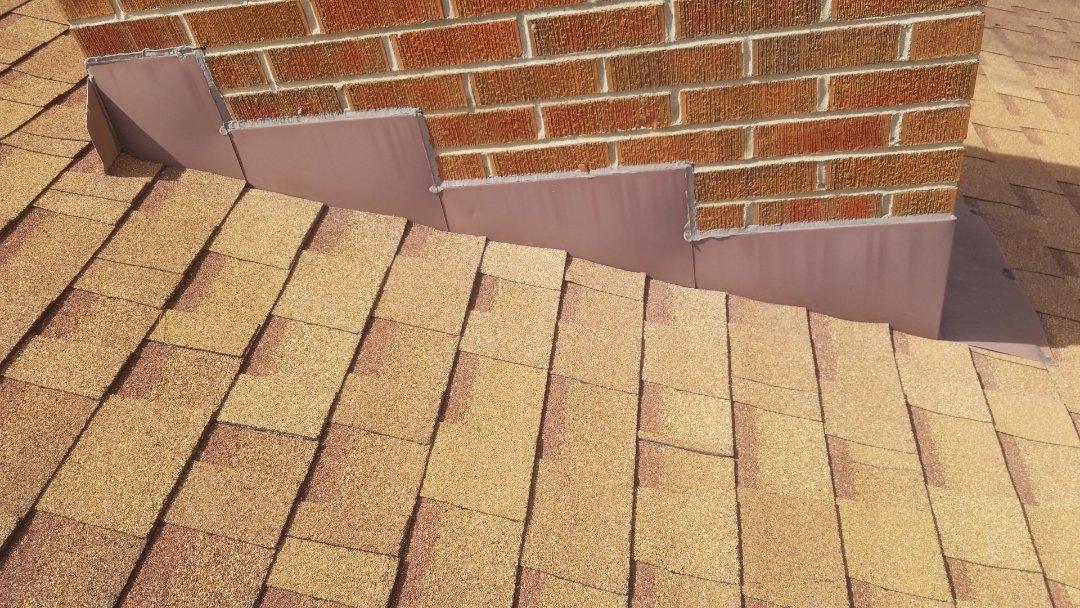 Springboro, OH - Shingle roof repairs in Springboro, Ohio.