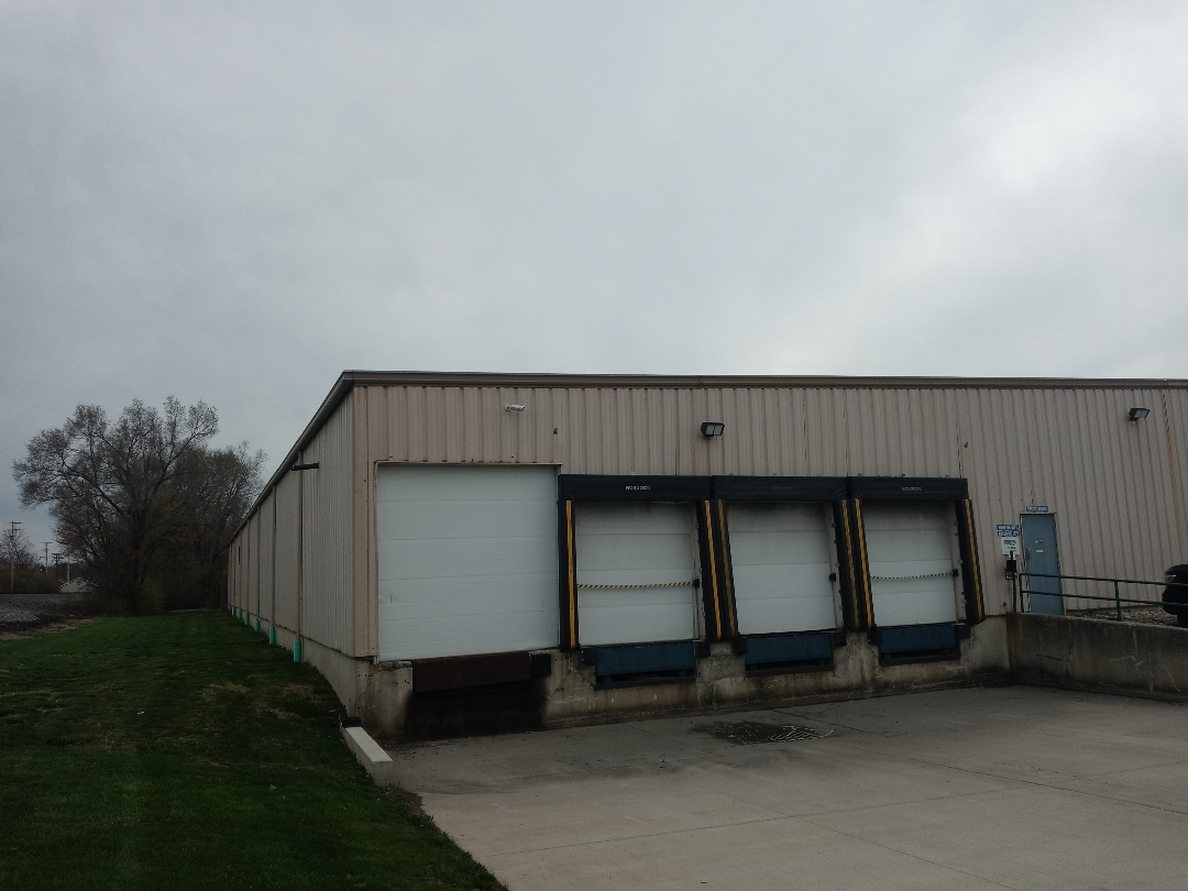 Miamisburg, OH - Inspecting an industrial roof replacement in Miamisburg, Ohio.