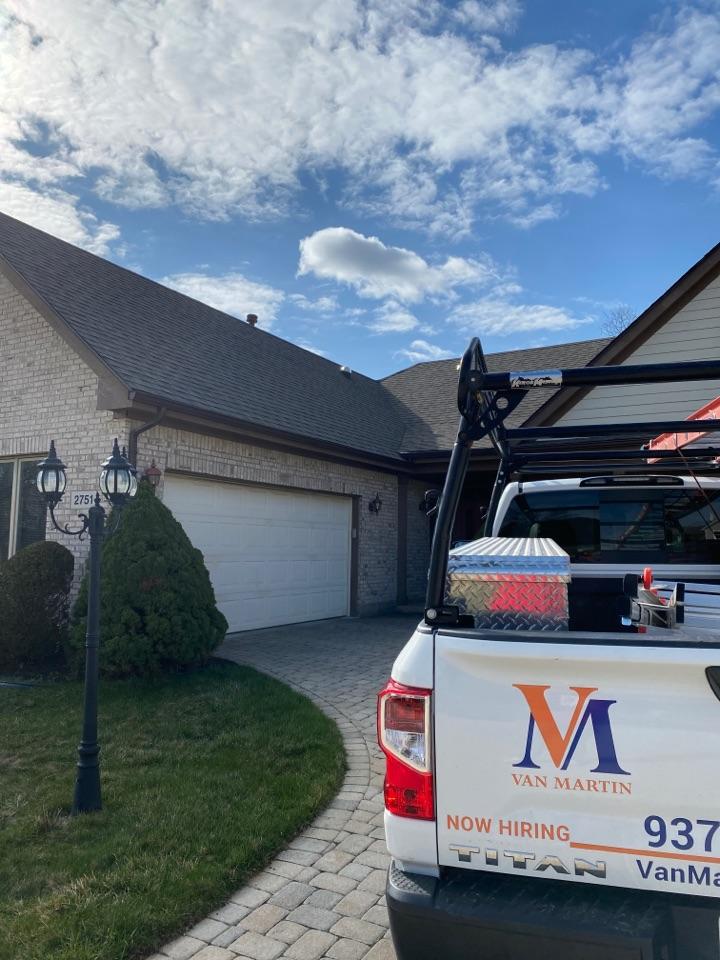 Beavercreek, OH - Final skylight installation inspection
