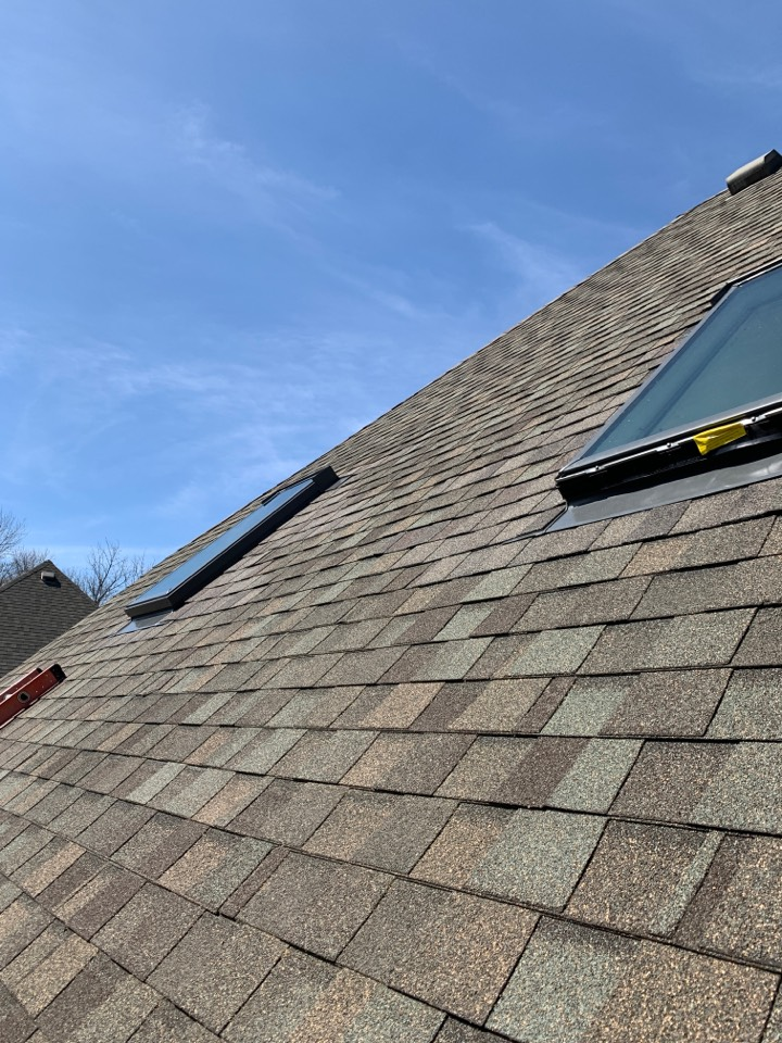 Centerville, OH - Replacing 2 velux skylights.