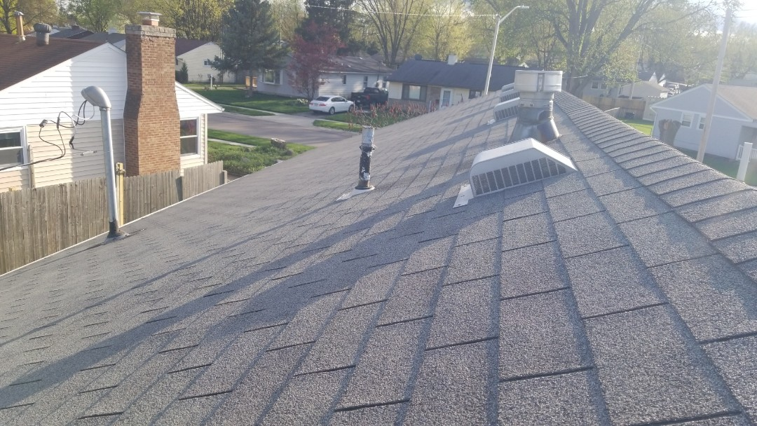 Kettering, OH - Certainteed Landmark shingle roof replacement in Kettering, Ohio.