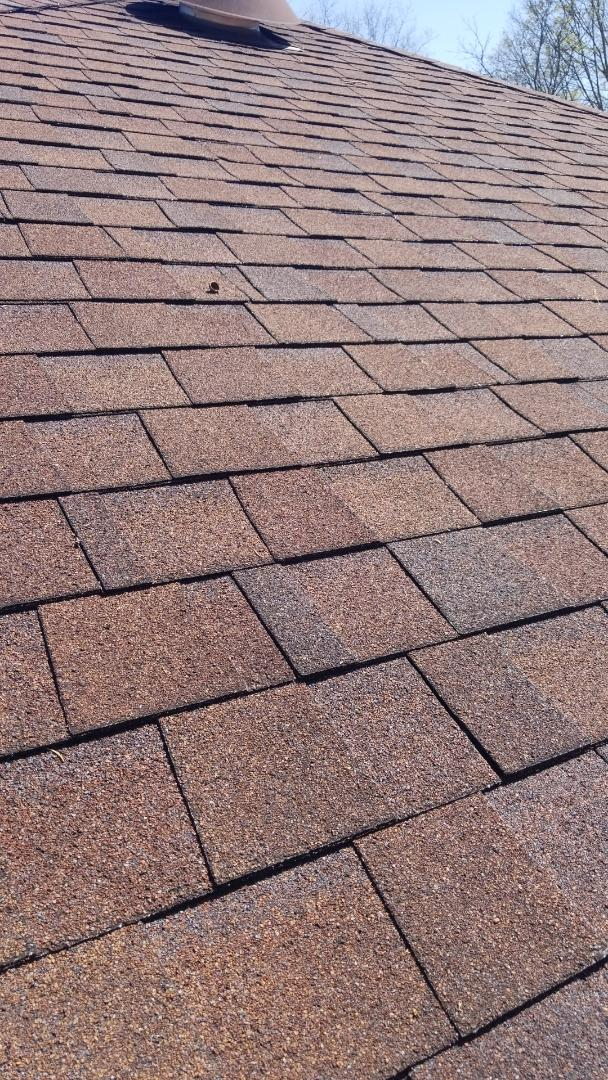 Kettering, OH - Shingle roof repairs in Kettering, Ohio.